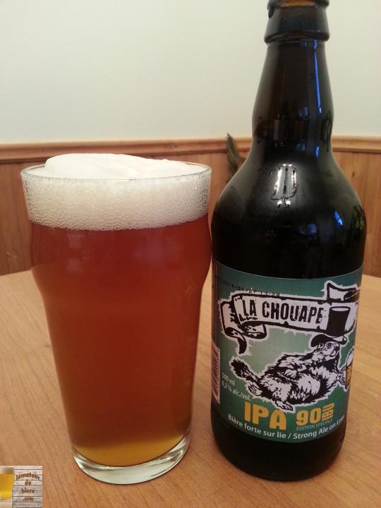 IPA 90 IBU (édition spéciale) de La Chouape