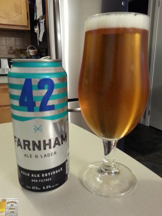 42 (Pale Ale Estivale) de Farnham Ale & Lager