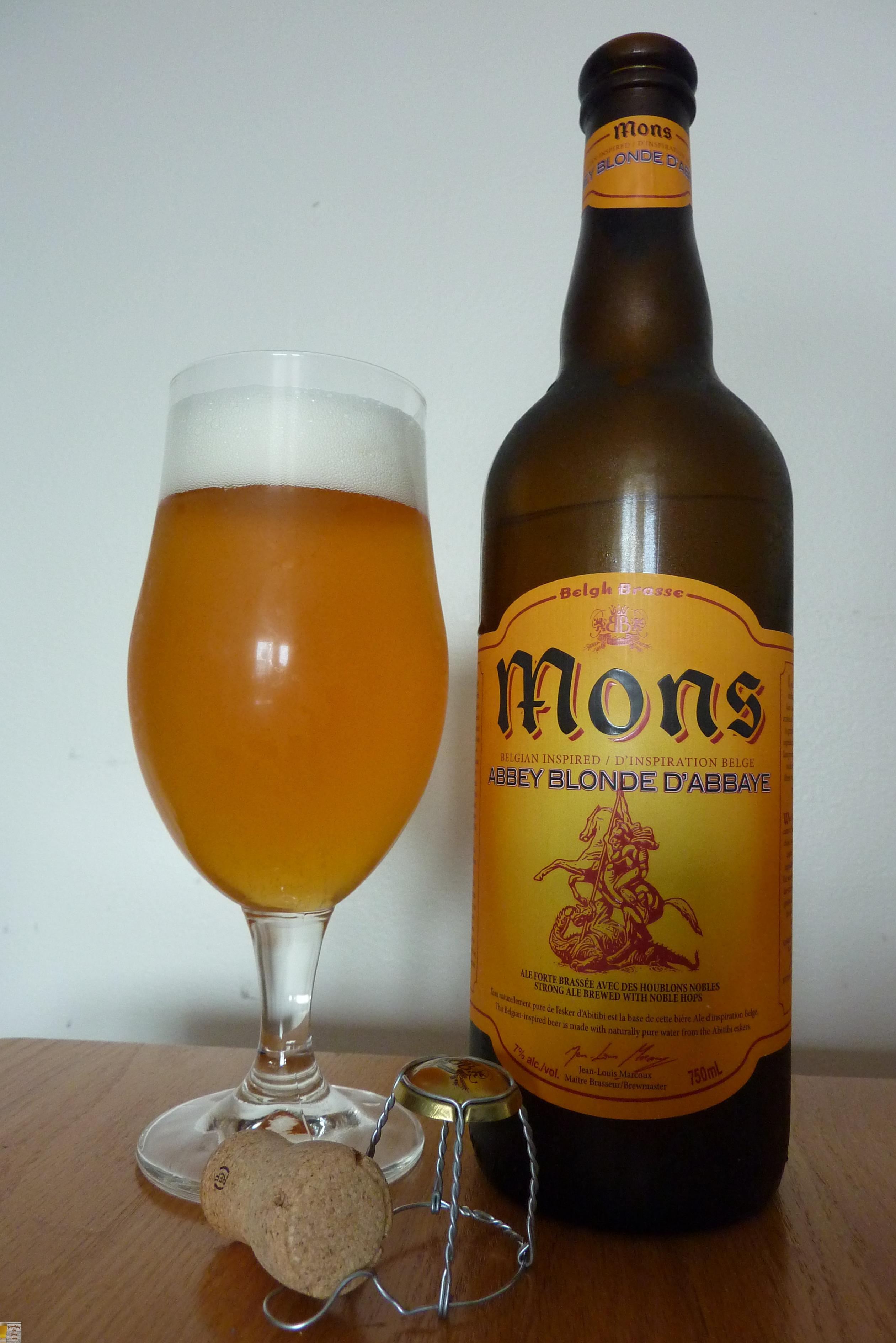 Mons Blonde de Belgh Brasse