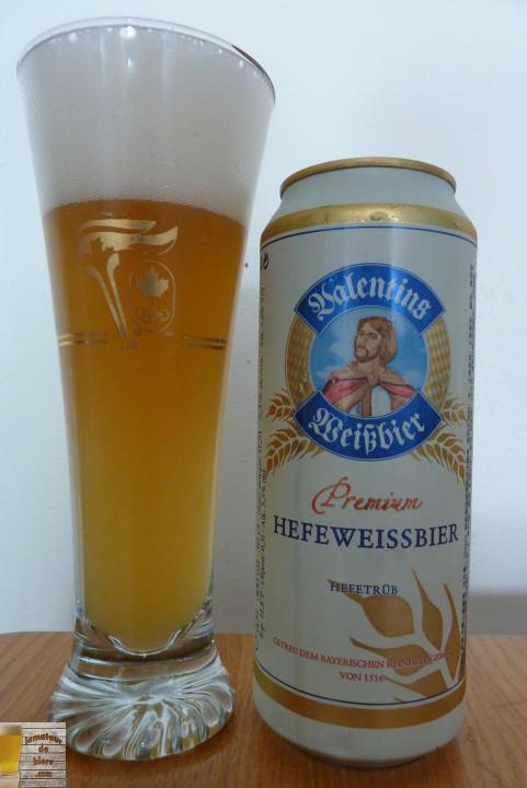 Valentins Weißbier de Parkbrauerei (SAQ)