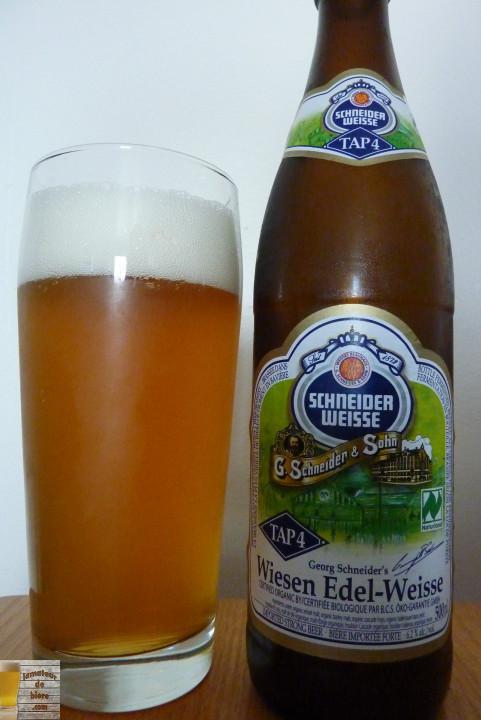 Schneider Weisse Tap 4 Wiesen Edel-Weisse de Weissbierbrauerei G. Schneider & Sohn (SAQ)
