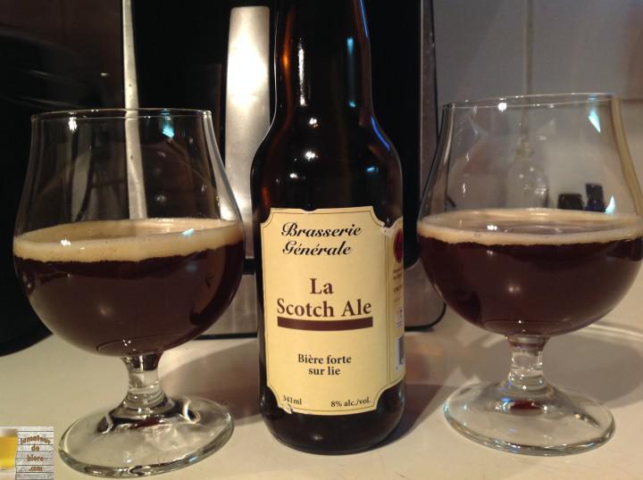 Scotch ale de Brasserie Générale