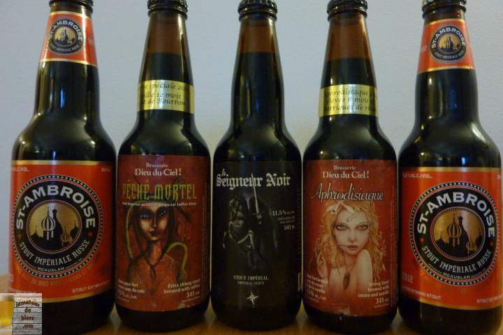 Styles de bières : Le Stout