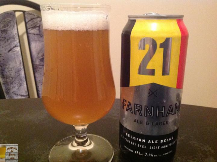 21 de Farnham Ale & Lager