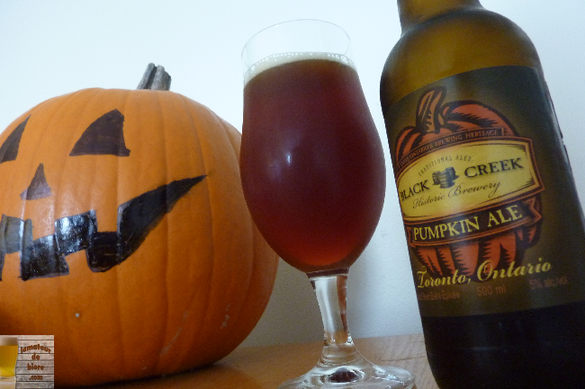 Pumpkin Ale de Black Creek Historic Brewery (LCBO)