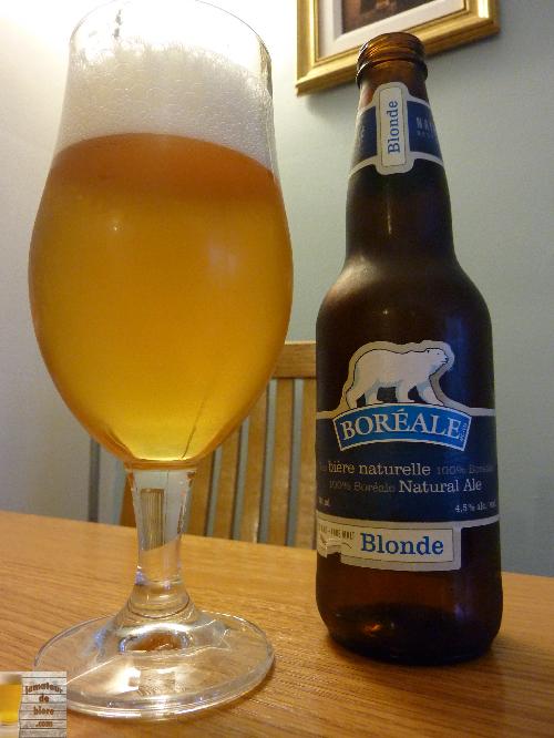 Boréale Blonde des Brasseurs du Nord
