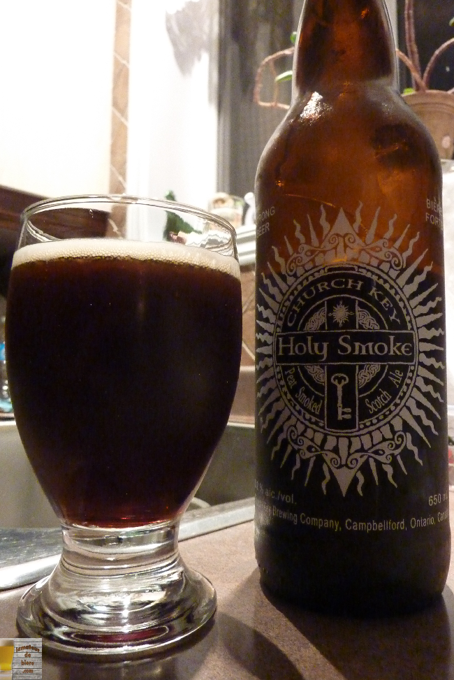 Holy Smoke de Church-Key Brewing (LCBO)