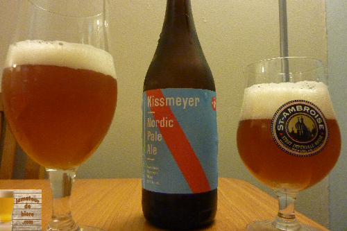 Nordic Pale Ale de Beau's All Natural et Kissmeyer (Ontario)