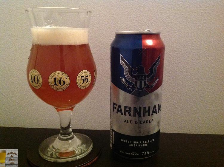 128 : Double india pale ale américaine de Farnham