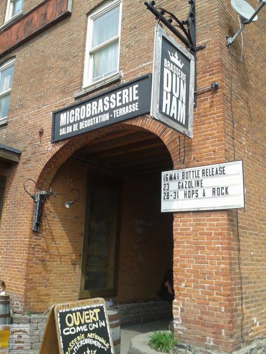 Compte-rendu du Bottle Release à l'occasion du 4e anniversaire de la Brasserie Dunham, le 16 mai dernier.