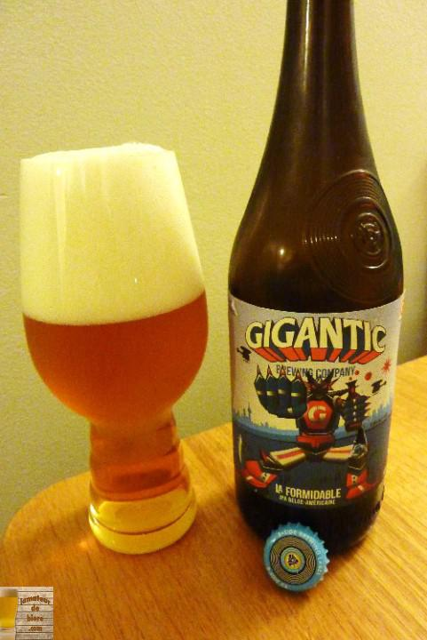 La Formidable de Gigantic Brewing Co. et la Brasserie Beau's