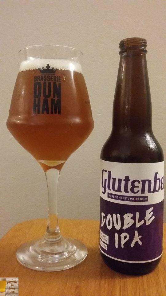 Glutenberg Double IPA des Brasseurs Sans Gluten