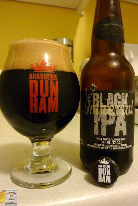 Imperial Black IPA Tequila de Dunham