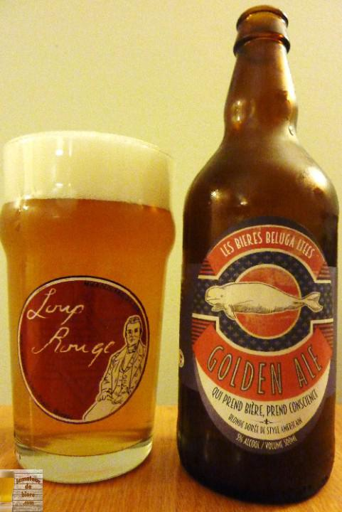 Golden Ale des Bières Béluga Ltée et de la Brasserie Générale