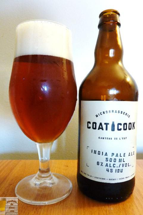 India Pale Ale de la Microbrasserie Coaticook
