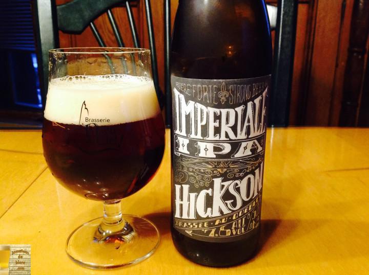Hickson IPA impériale des 2 Frères