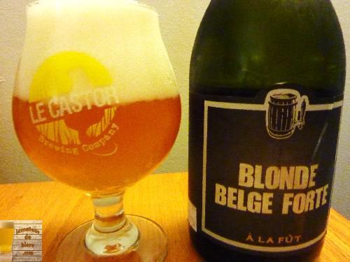 Blonde Belge Forte d'À la Fût