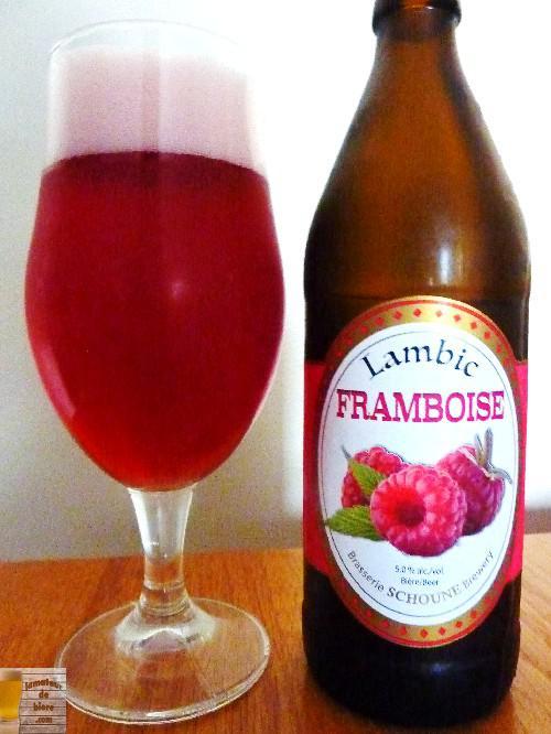 Lambic Framboise de la Brasserie Schoune