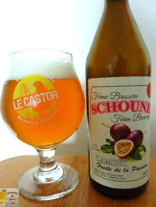 Lambic Fruits de la Passion de la Ferme Brasserie Schoune
