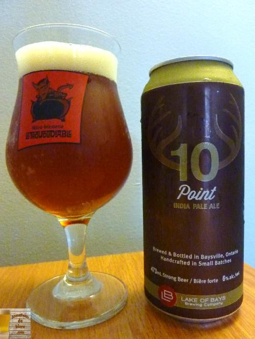 10 Point de Lake of Bays Brewing Company (LCBO)