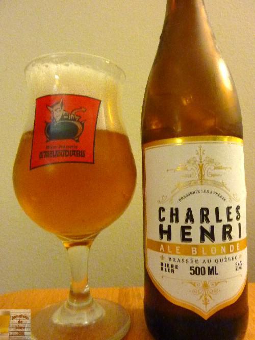 Charles Henri Ale Blonde de la Brasserie les 2 Frères