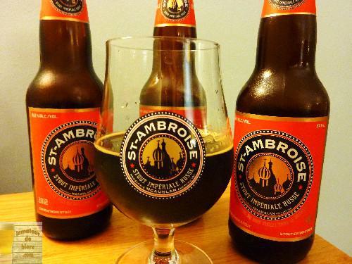 Vieillissement de la bière : St-Ambroise Stout Impérial Russe