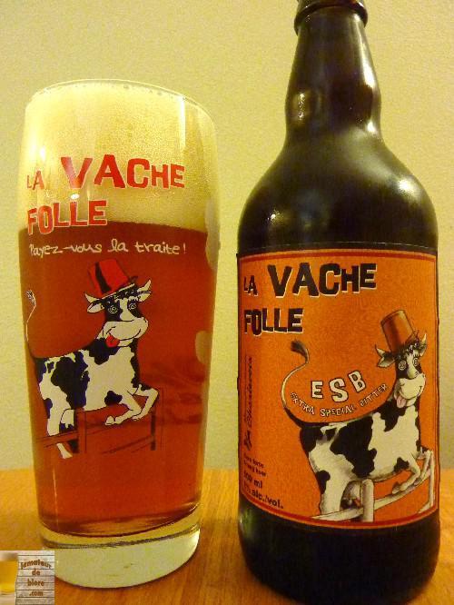 Vache Folle ESB de la Microbrasserie Charlevoix