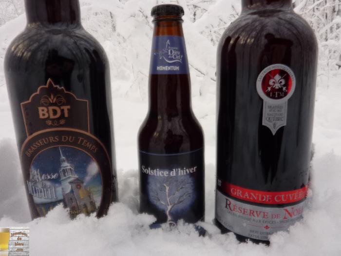 Les bières hivernales