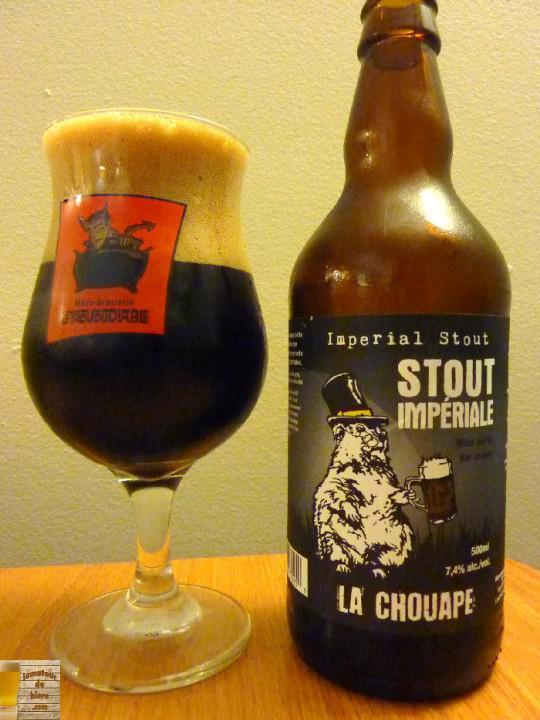 Impériale Stout de La Chouape