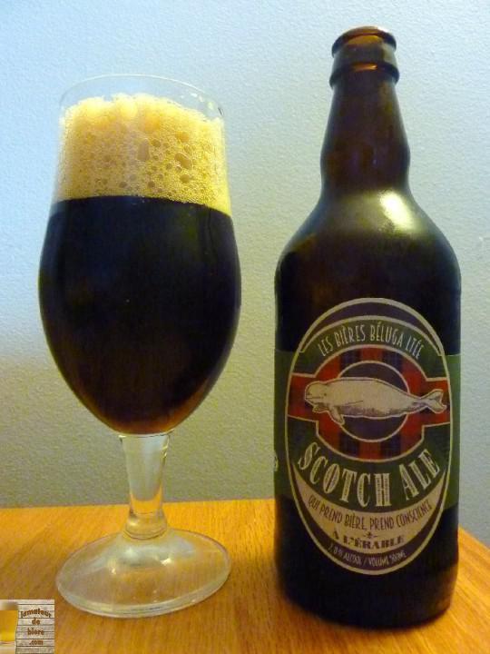 Scotch Ale des Bières Béluga Ltée et Brasserie Générale