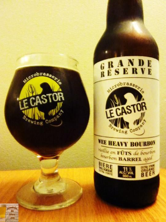 Wee Heavy Bourbon Grande Réserve du Castor