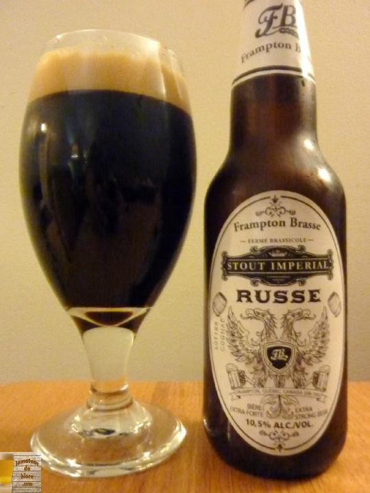 Stout Impérial Russe Cognac de Frampton Brasse
