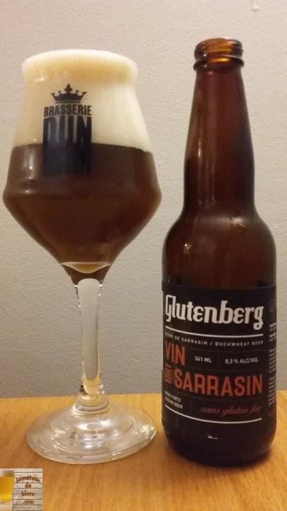 Glutenberg Vin de Sarrasin des Brasseurs Sans Gluten