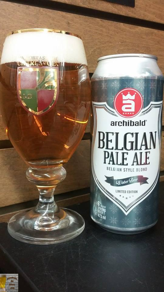 Pale Ale Belge d'Archibald