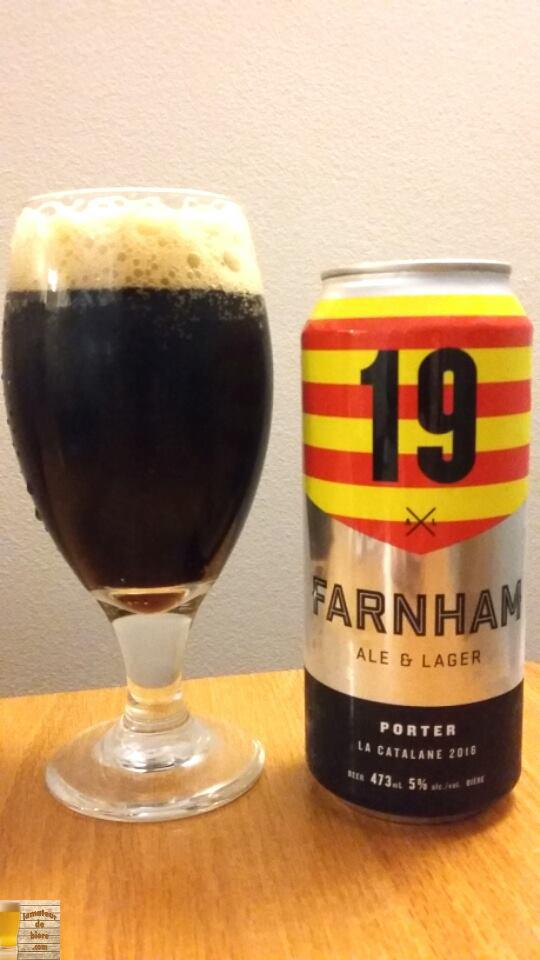 19 Catalane 2016 de Farnham Ale & Lager