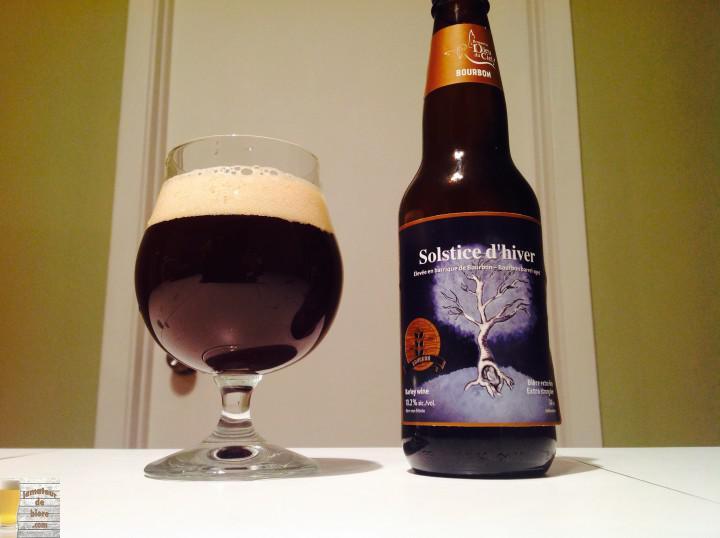 Solstice d'hiver Bourbon 2015 de Dieu du Ciel!