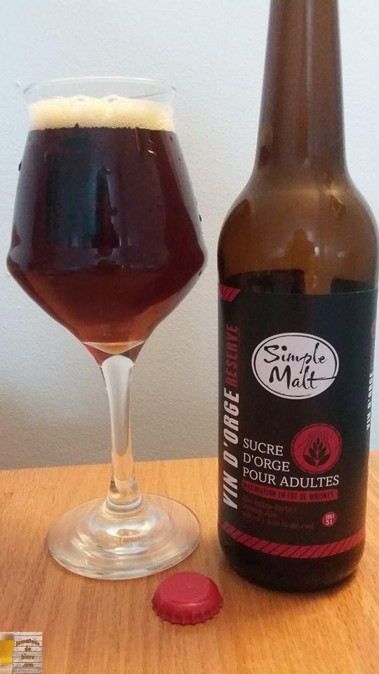 Vin d'Orge Réserve des Brasseurs Illimités