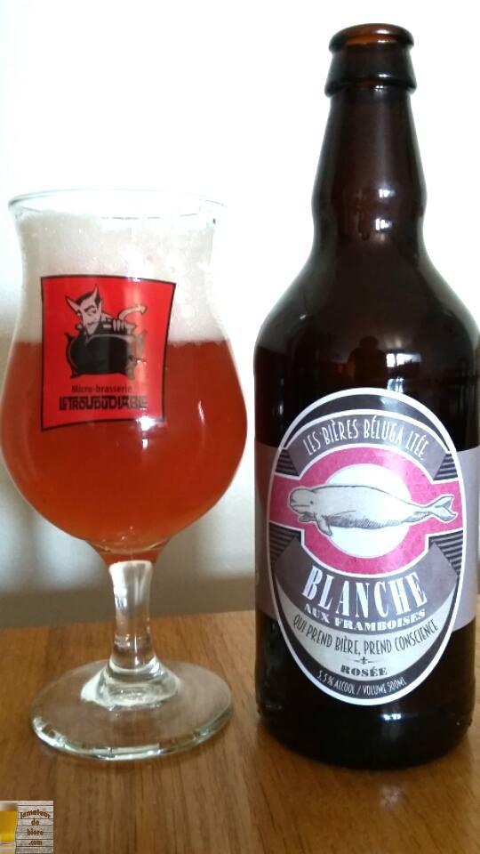 Blanche aux Framboises des Bières Béluga Ltée