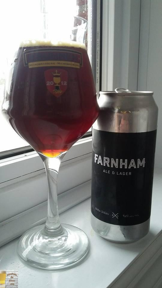 Doppelbock Série Noire de Farnham Ale & Lager