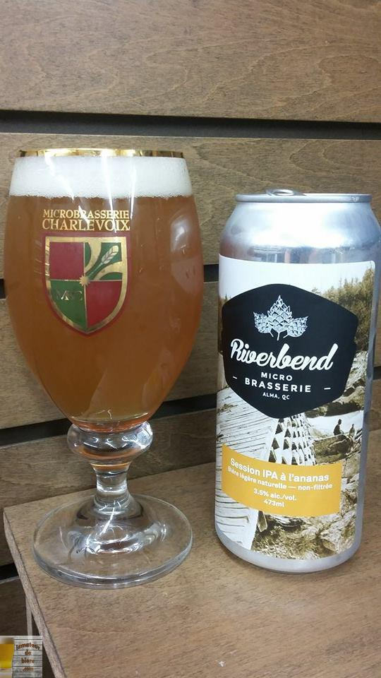 Session IPA à l'ananas de Riverbend
