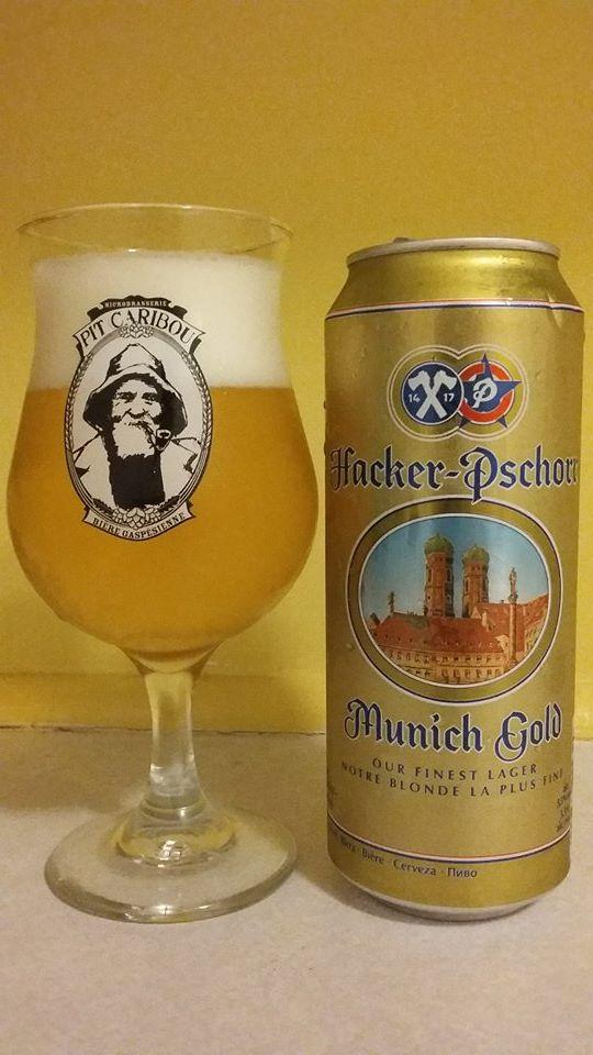 Munich Gold de Hacker-Pschorr (Allemagne)