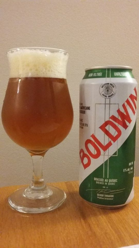 Boldwin IPA de New Deal