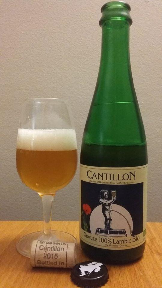 Gueuze 100% Lambic Bio de Cantillon (Belgique)