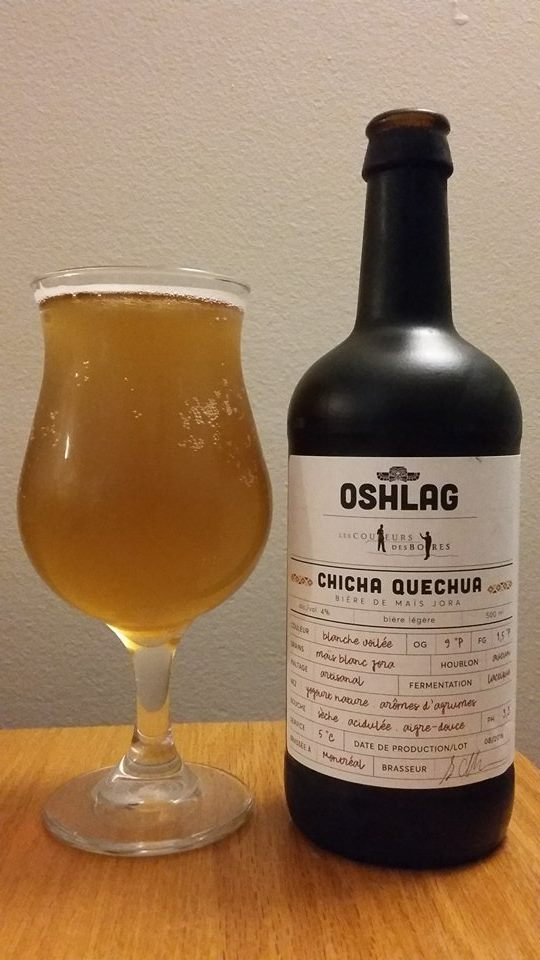 Chicha Quechua d'Oshlag