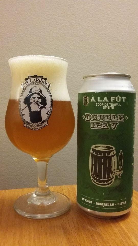 Double IPA V d'À la Fût