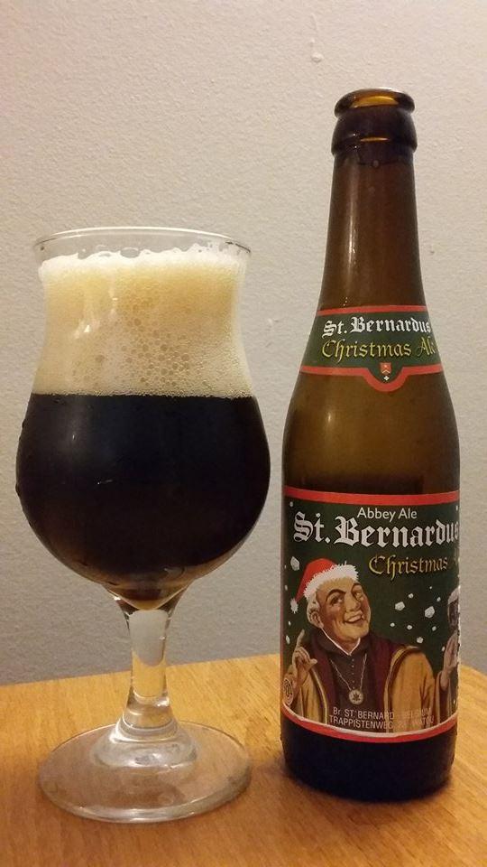 St. Bernardus Christmas Ale de la Brasserie St. Bernardus (Belgique)