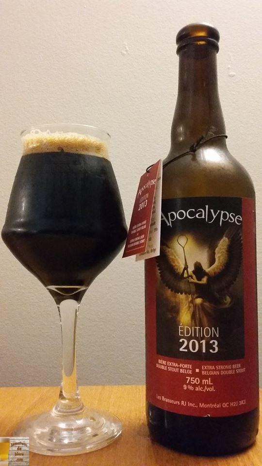Vieillissement de la bière : Apocalypse 2013 des Brasseurs RJ