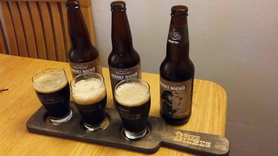 Vieillissement de la bière : Isseki Nicho de Dieu du Ciel!