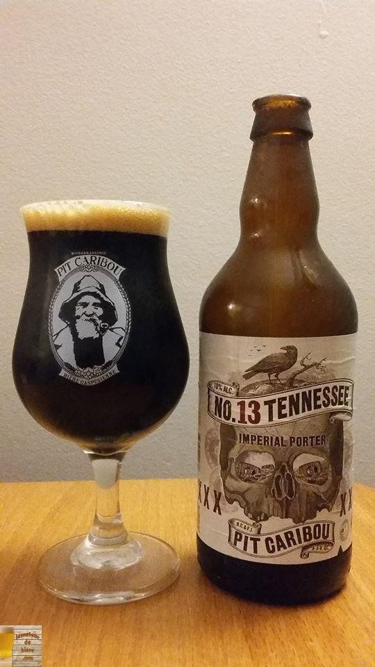Vieillissement de la bière : No 13 Tennessee de Pit Caribou