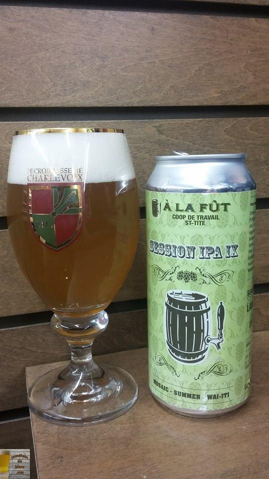 Session IPA IX d'À la Fût